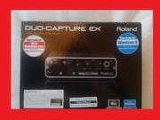 звукозапись ROLAND  DUO CAPTURE  EX 2015