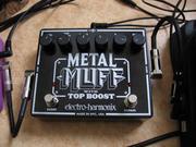 Примочка Electro harmonix - Metal Muff with Top Boost