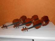 продаю скрипки бу реставрированные и  новые