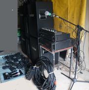 Звуковое оборудование для клуба,  сцены